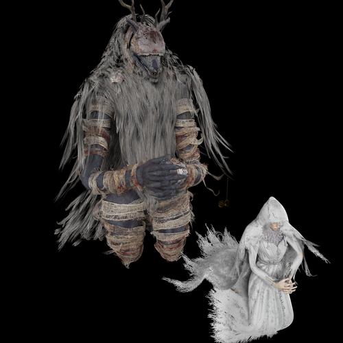 Thumbnail image for Vicar amelia bloodborne (beast version Funa/female+munan version)