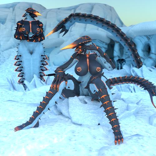 Thumbnail image for Iceworm (subnautica below zero)