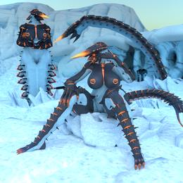 Iceworm (subnautica below zero)