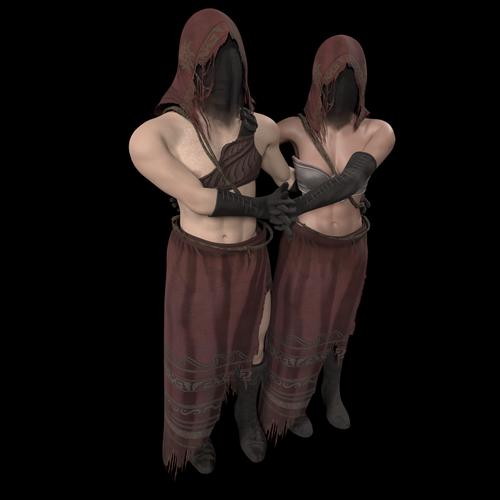Thumbnail image for Male/Female Desert pyromancer (dark souls 3)