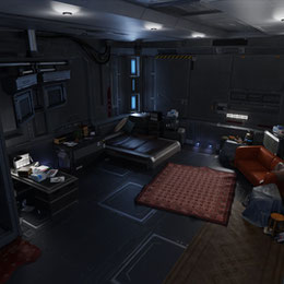 Aerith's Shinra room - Final Fantasy 7 Remake