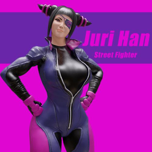 Thumbnail image for Juri Han (Street Fighter)