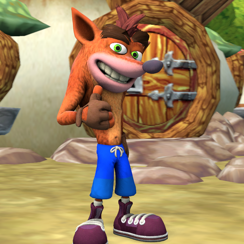 Thumbnail image for Crash Bandicoot House (Inside & Outside)