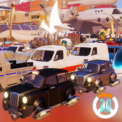 Thumbnail image for Overwatch - Vehicle Pack
