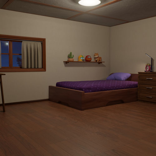 Thumbnail image for Night Bed Room
