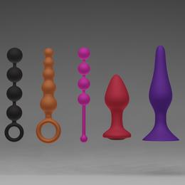 Silicone sex toys
