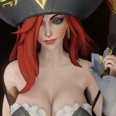 Thumbnail image for Miss Fortune (and Ruined Miss Fortune)