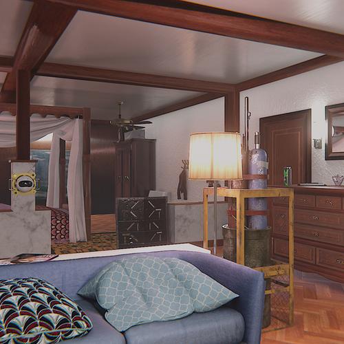 Thumbnail image for Coastline bedroom - Rainbow Six | Siege