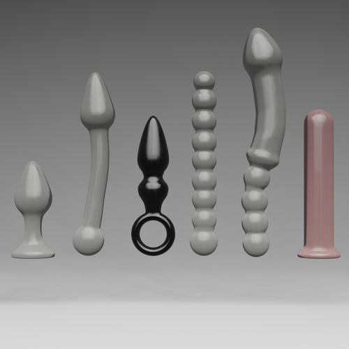 Thumbnail image for Glass sex toys
