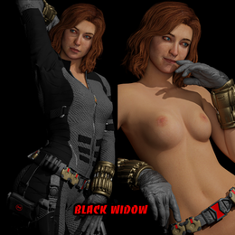 Marvels Avengers Black Widow