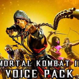 Mortal Kombat 11 female voice pack