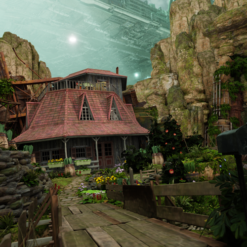 Thumbnail image for Aerith's house Final Fantasy 7 Remake