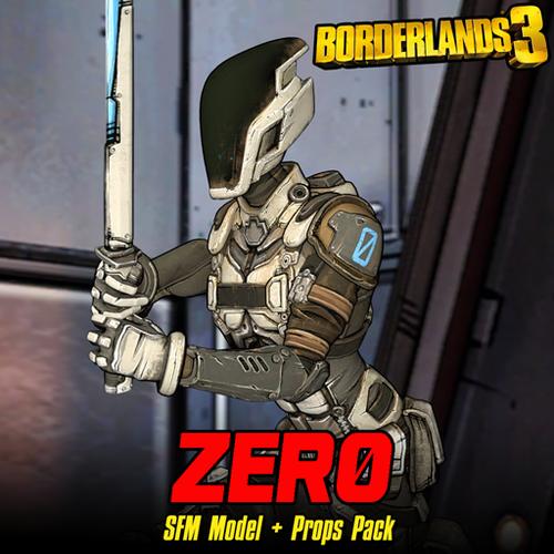 Thumbnail image for Borderlands 3: Zer0 (Model + Prop Pack)