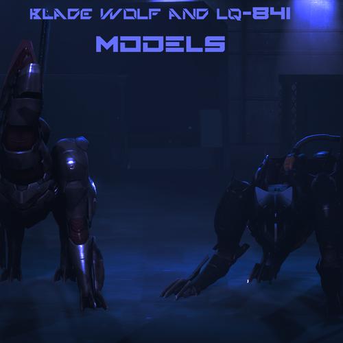 Thumbnail image for BLADE WOLF & LQ-84i Models - Metal Gear Rising: REVENGEANCE
