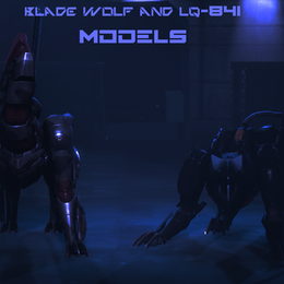 BLADE WOLF & LQ-84i Models - Metal Gear Rising: REVENGEANCE