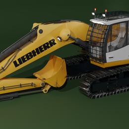 LIEBHERR 936 Excavator