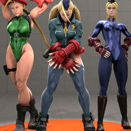 (Impmon™)  Street Fighter V Cammy White