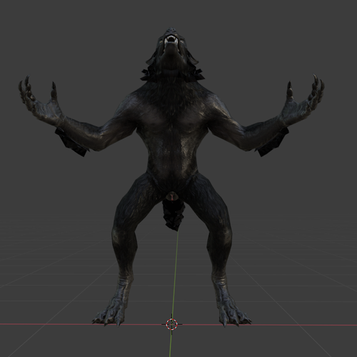 Thumbnail image for Skyrim Female werewolf