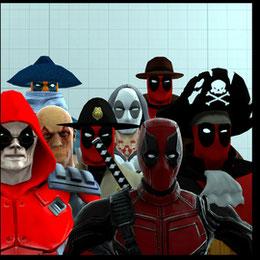 (Xelandis) Deadpool models