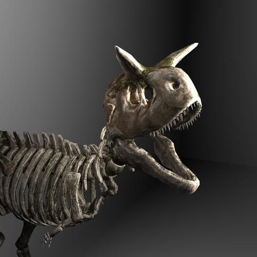 Thumbnail image for Skeletal Carnotaurus (Ark Survival Evolved)