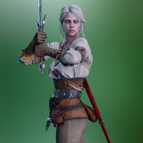Thumbnail image for Ciri - Witcher 3
