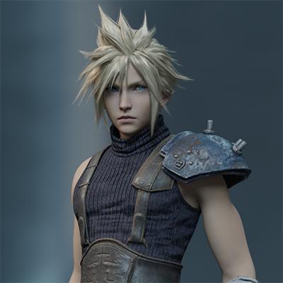 Thumbnail image for Cloud Strife - Final Fantasy VII Remake