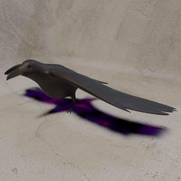 Low Poly Crow