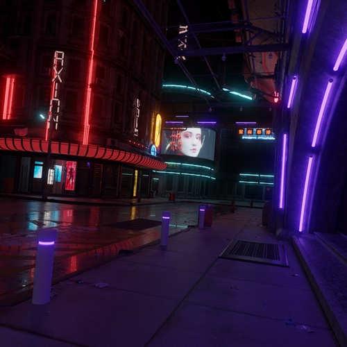 Thumbnail image for Cyberpunk Streets