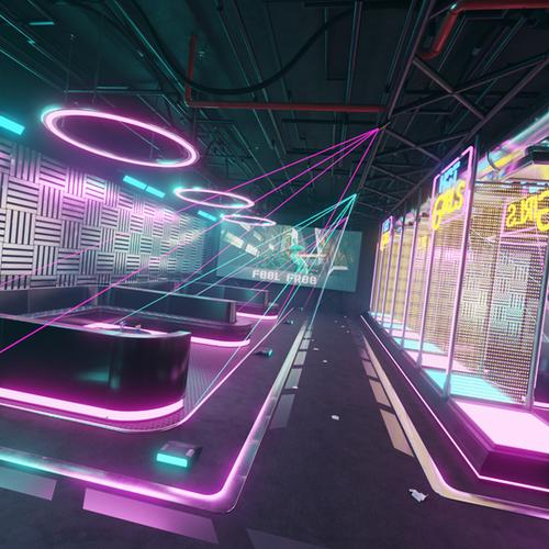 Thumbnail image for Cyberpunk Nightclub