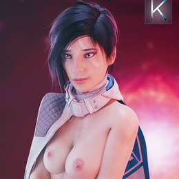Ana Bray (Bae) - Destiny 2 Nude model