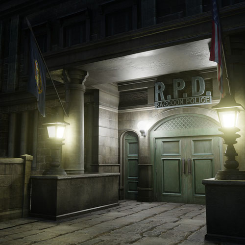 Thumbnail image for Resident Evil - Raccoon police Department building