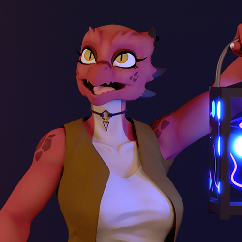 Thumbnail image for Fade the Kobold (Cycles)