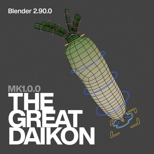 Thumbnail image for The Great Daikon [MK 1.0.0] (Blender 2.90.0)