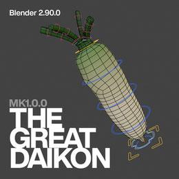 The Great Daikon [MK 1.0.0] (Blender 2.90.0)