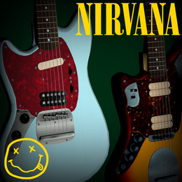SFM Nirvana - Kurt Cobain's Main Guitars