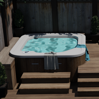Thumbnail image for Deck with Jacuzzi