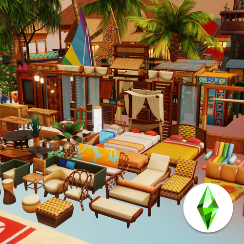 Thumbnail image for Sims4 - Island Living Pack