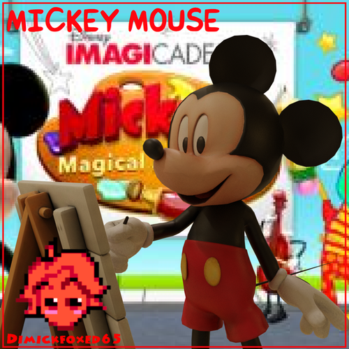 Thumbnail image for Mickey's Magical Arts World by Disney Imagicademy - Mickey Mouse