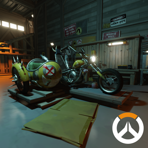 Thumbnail image for Overwatch - Junkertown Garage