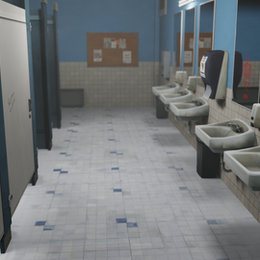 Life is strange - School bathroom