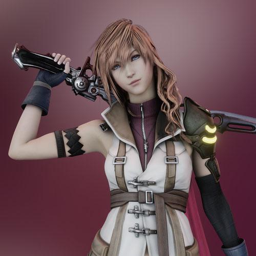 Thumbnail image for Lightning - FFXIII