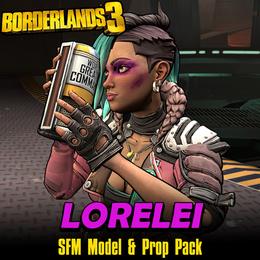 Borderlands 3: Lorelei (Model + Prop Pack) UPDATED 10/7/2020