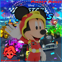 Disney All Stars Racing - Mickey Mouse