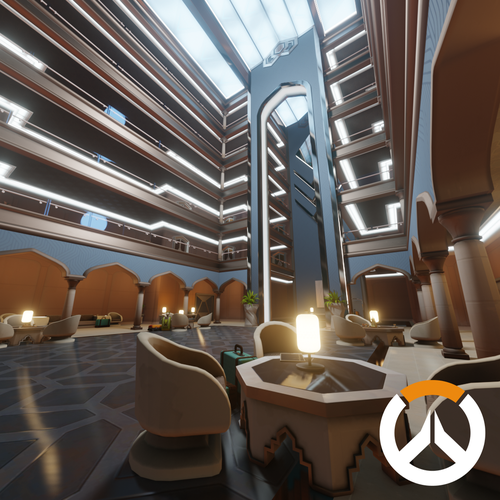 Thumbnail image for Overwatch - Oasis Hotel