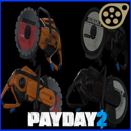 PAYDAY 2 - OVE9000 Saw