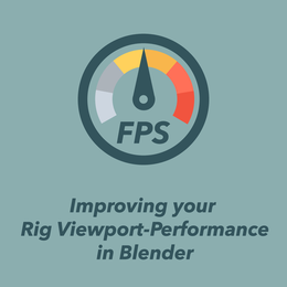 Improving Rig Viewport Performance for Blender Armatures