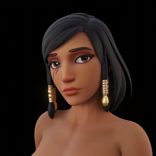 Thumbnail image for Arho's OW models: Pharah v1.3