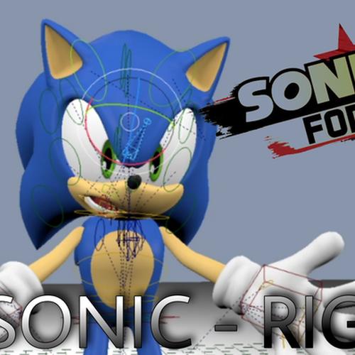 Thumbnail image for Sonic Rig Beta - Blender 2.79