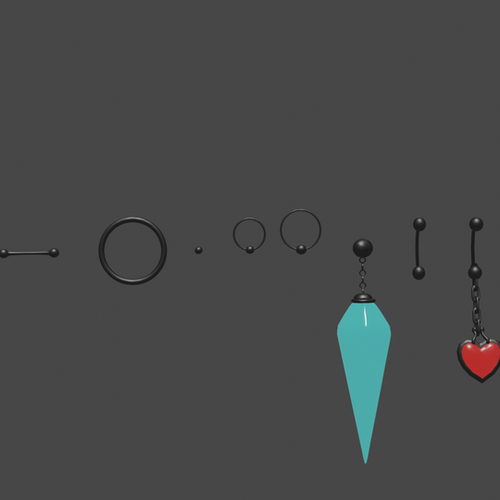 Thumbnail image for Assorted Piercings