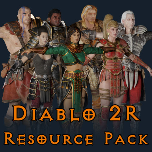 Thumbnail image for Diablo 2 Resurrected - Resource Pack
